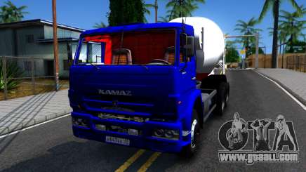 KamAZ 65115 Mixer Truck for GTA San Andreas