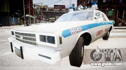 Chevrolet Impala Chicago Police for GTA 4