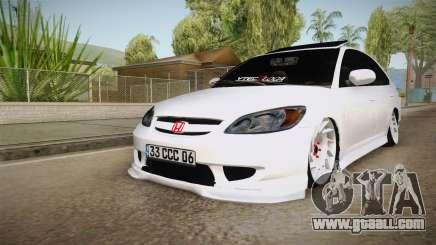 Honda Civic Vtec 2005 for GTA San Andreas