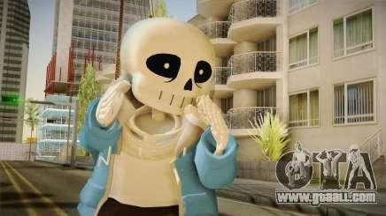 Sans The Skeleton for GTA San Andreas