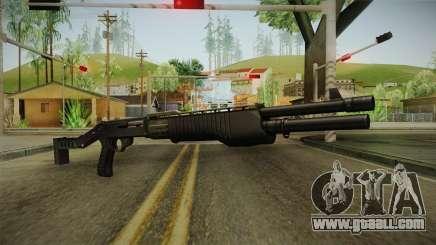 SPAS-12 Long Barrel and Magazine for GTA San Andreas
