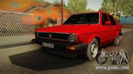 Volkswagen Jetta Mk1 седан for GTA San Andreas