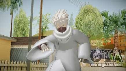 NUNS4 - Kakashi Hokage Mangekyou Sharigan Eyes for GTA San Andreas