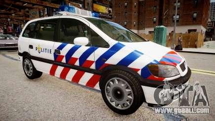 Opel Zafira Police for GTA 4