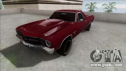 Chevrolet El Camino SS 454 1970 for GTA San Andreas