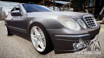 Mercedes-Benz AMG E320 W211 for GTA 4
