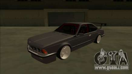 BMW M6 E24 Drift for GTA San Andreas