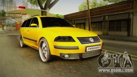 Volkswagen Passat B5 FL W8 for GTA San Andreas