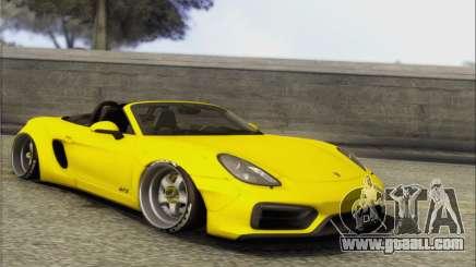 Porsche Boxter GTS L3DWork for GTA San Andreas