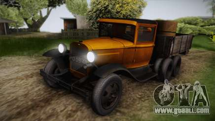 GAZ-AAA 1934 IVF for GTA San Andreas