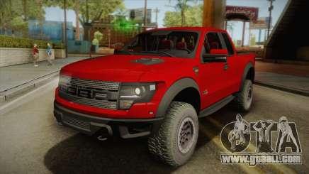 Ford F-150 SVT Raptor Elite 2014 for GTA San Andreas