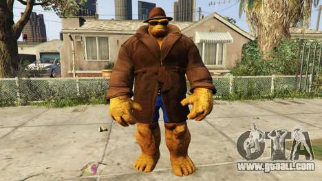 GTA 5 The Thing Incognito