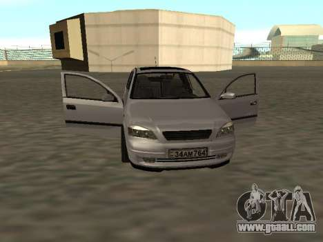 Opel Astra G Armenian for GTA San Andreas back view