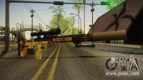 DesertTech Weapon 1 Camo for GTA San Andreas