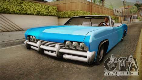 3 New Paintjobs for Blade for GTA San Andreas