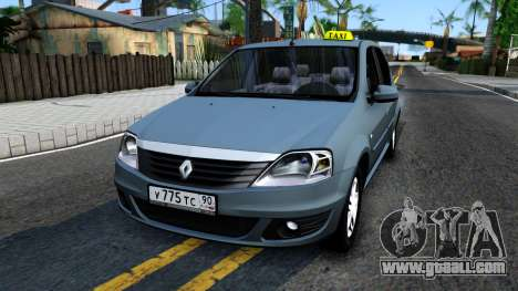 Renault Logan Taxi for GTA San Andreas