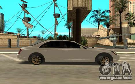 Maybach for GTA San Andreas left view