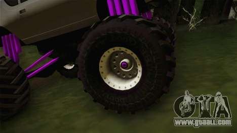 AMC Gremlin X 1973 Monster Truck for GTA San Andreas back view