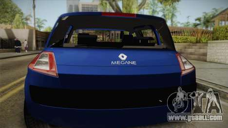 Renault Megane Hatchback Dynamique for GTA San Andreas back view