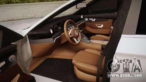 Mercedes-Benz E350e 2016 for GTA San Andreas inner view