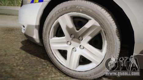 Chevrolet Impala Police Malaysia for GTA San Andreas back left view