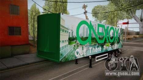 ONEXOX Trailer for GTA San Andreas