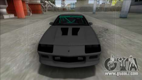 Chevrolet Camaro IROC-Z 1990 Drag for GTA San Andreas right view