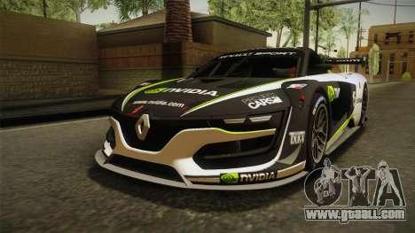Renault Sport R.S.01 PJ2 for GTA San Andreas bottom view