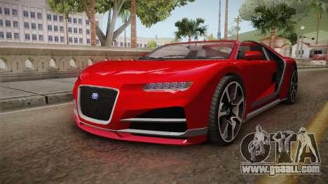 GTA 5 Truffade Nero Cabrio for GTA San Andreas