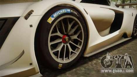 Renault Sport R.S.01 PJ2 for GTA San Andreas back view