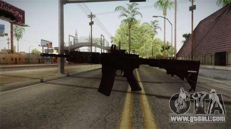 CoD 4: MW - M4A1 Remastered v2 for GTA San Andreas third screenshot