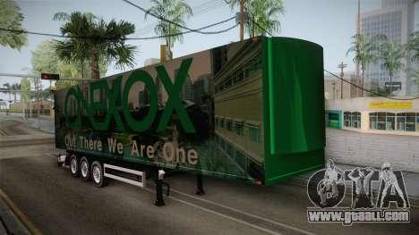 ONEXOX Trailer for GTA San Andreas right view