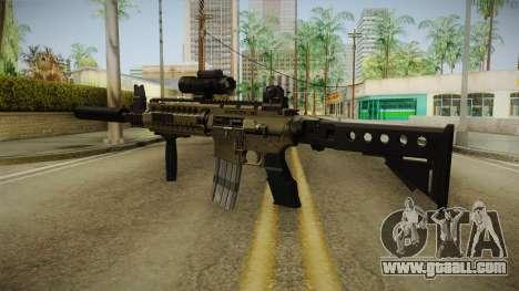 M4 v1 for GTA San Andreas second screenshot