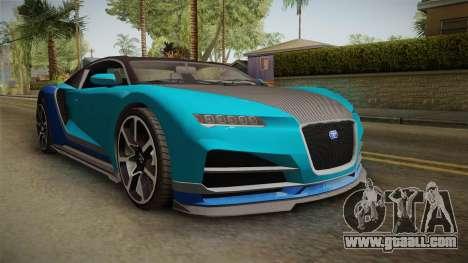 GTA 5 Truffade Nero Spyder IVF for GTA San Andreas