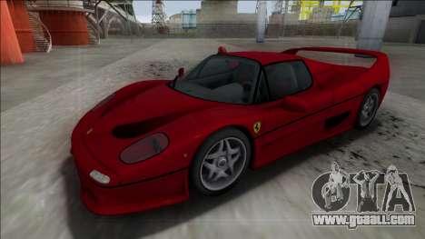 Ferrari F50 FBI for GTA San Andreas