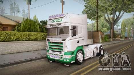 Scania R620 ONEXOX for GTA San Andreas