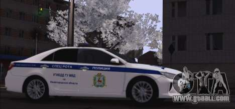 Toyota Camry for traffic police for GTA San Andreas left view
