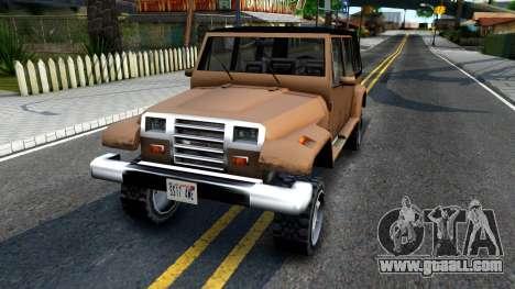 Mesa Crusader for GTA San Andreas