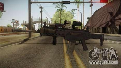 ARX-160 Tactical v3 for GTA San Andreas second screenshot