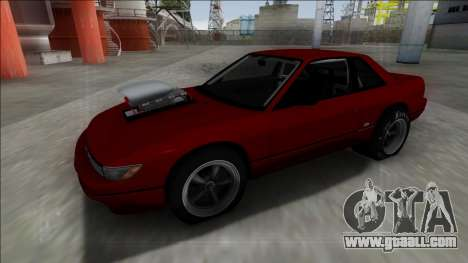 Nissan Silvia S13 Drag for GTA San Andreas right view