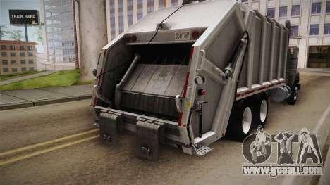 Mack RD690 Trash 1992 v1.0 for GTA San Andreas inner view