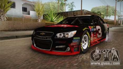 Chevrolet SS Nascar 3 Dow 2017 for GTA San Andreas