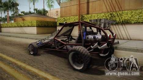 Bandito Ramp Car for GTA San Andreas left view