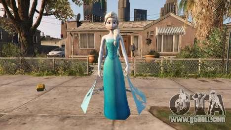GTA 5 Elsa from Frozen second screenshot