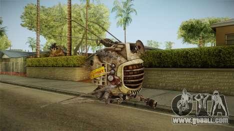 Fallout New Vegas - ED-E v1 for GTA San Andreas second screenshot