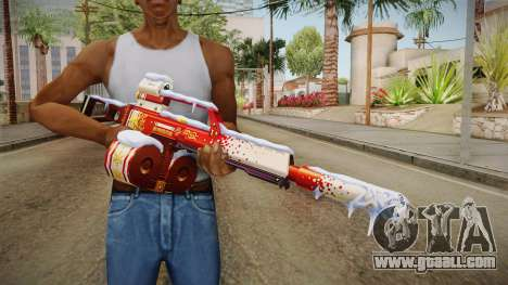 Vindi Xmas Weapon 5 for GTA San Andreas third screenshot
