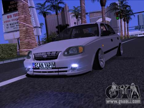 Hyundai Accent - Ecan Yapim for GTA San Andreas