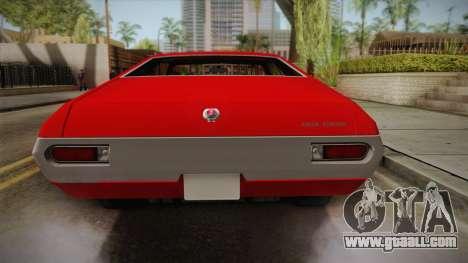 Ford Gran Torino 1972 for GTA San Andreas back view