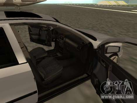 Opel Astra G Armenian for GTA San Andreas inner view