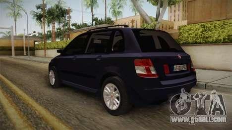 Fiat Stilo for GTA San Andreas back left view